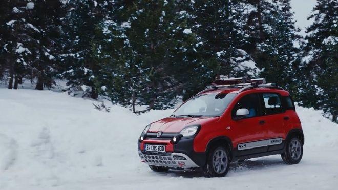 Fiat Panda Reklam Filmi Havadan Video Çekimi