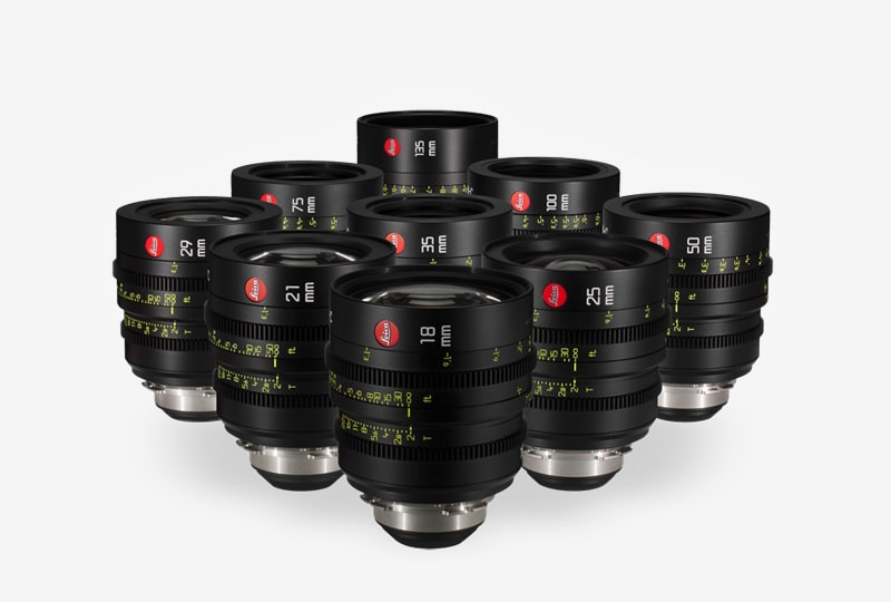 Leica Summicron Lens Seti