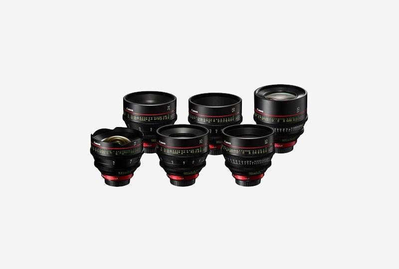 Canon Cine Prime Lens Seti
